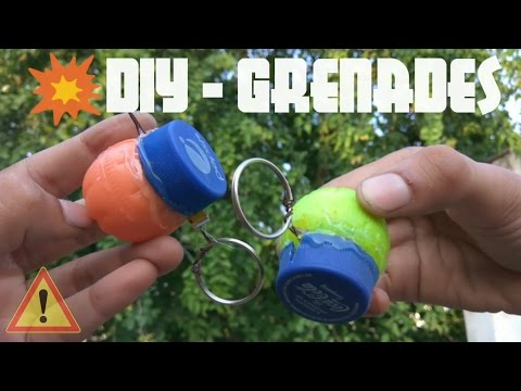 DIY Homemade GRENADE | How to make Triggered Cracker | Full Tutorial | KesPra ✔