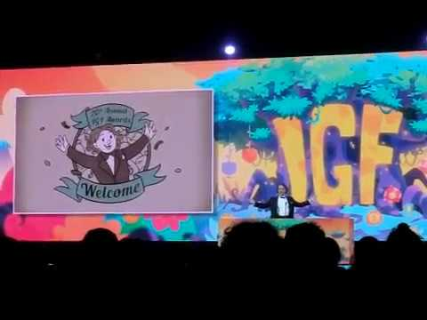 GDC2018, Independent Games Festival Awards opening