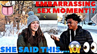 MOST EMBARRASSING SEX MOMENT!?   Public Interview   Mk3maxwell   College Edition