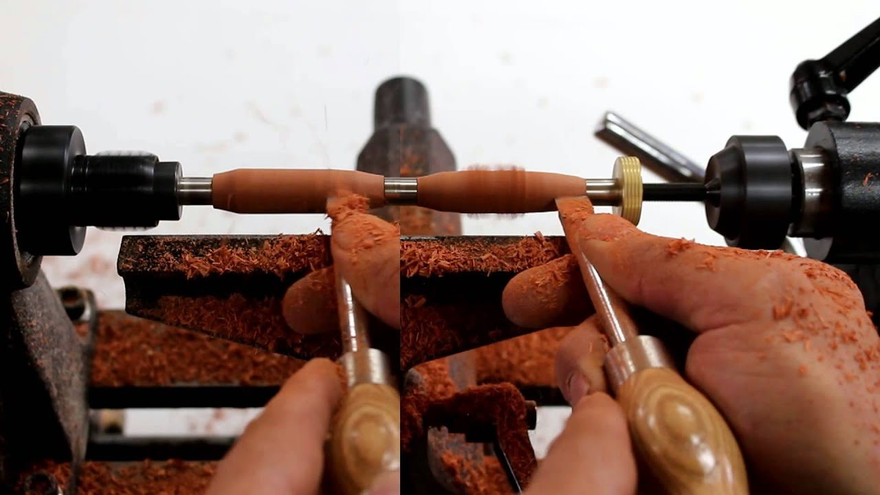 Woodturning For Beginners How To Turn A Pen Glass Impressions