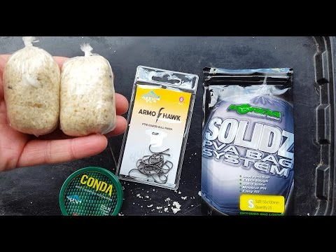 Carp Fishing - The Ultimate PVA Bag Rig Guide