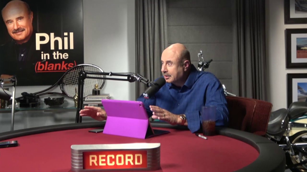 Living by Design Series Part 1 with Dr  Phil - Phil in the Blanks