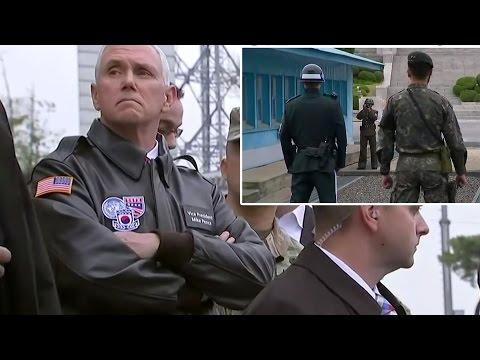 99% OF AMERICA MISSED THE BOLD MOVE MIKE PENCE TOOK WHEN HE VISITED THE KOREAN BORDER