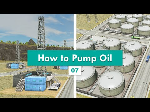 Starter Road & Rail Layout for Oil Industry | Cities: Skylines – Design and Manage S3E07