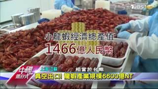 陸宵夜文化 帶動小龍蝦翻身 攻國際 中國進行式 20170730