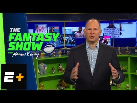 Matthew Berry's 2018 fantasy football tight end draft strategy | The Fantasy Show | ESPN+