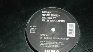 Datura And Billie Ray Martin - Mystic Motion [1995]