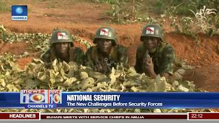 Security Chiefs To Deploy New Strategies Over Security Challenges Pt.1 |News@10| 22/08/17