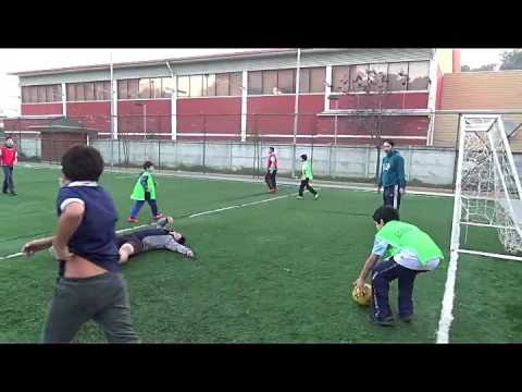 Lota deportes, taller de futbol Municipal de lota  2 (19. 05. 2017)