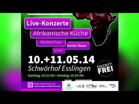 Afrika Kultur Fest am 10 und 11 Mai 2014 in Esslingen