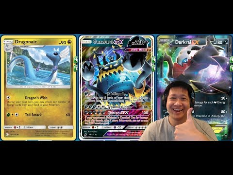 Turbo GUZZLORD GX Deck Using Dragonair Unlimited Energy Boost