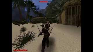 Gothic II The Dark Saga | Shooting with a sword | двойные мечи ошибка оружие
