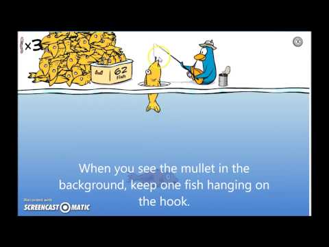 How To Catch The Mullet In Club Penguin