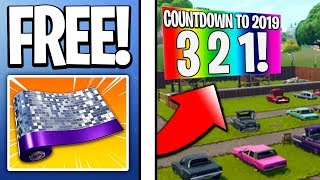 EVERYTHING Happening With The Fortnite New Years Update! - FREE Rewards & MORE! (New Years Event)