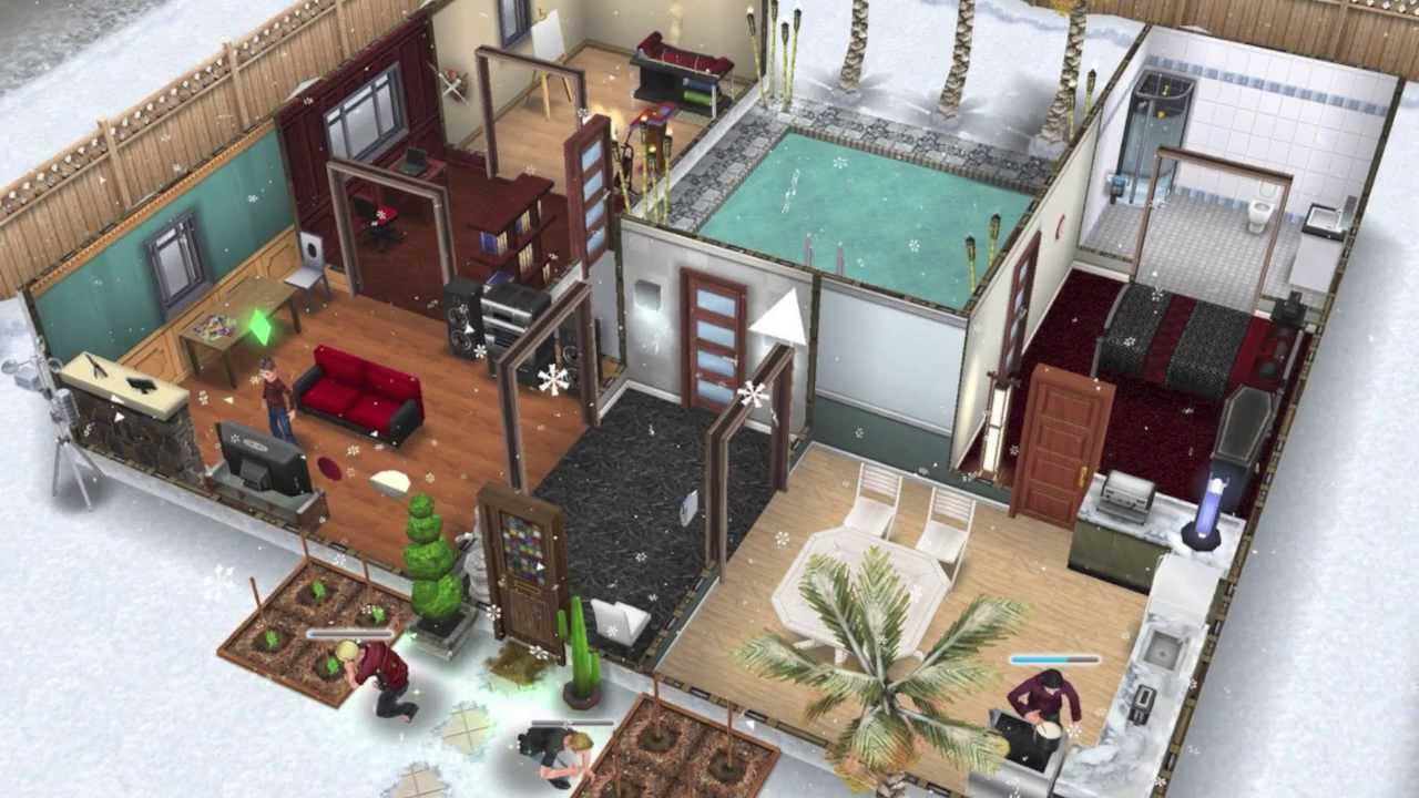 The Sims FreePlay- My Original House - YouTube