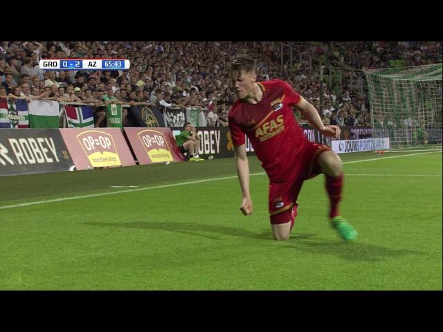 Samenvatting FC Groningen - AZ 1-4 (Play-offs)