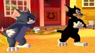 Tom and Jerry War of the Whiskers - Tom and Butch vs Jerry and Spike - Cartoon Games for Kids HD