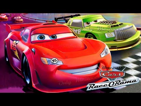 CARS Rayo McQueen - basado en Cars la Pelicula en Español RACE O RAMA (continua la Pelicula Cars 1)