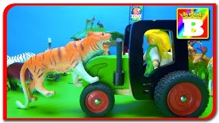Learning Wild Animals Names and Sounds for kids in English. Funny Africa Zoo animals.  Bogdan`s Show