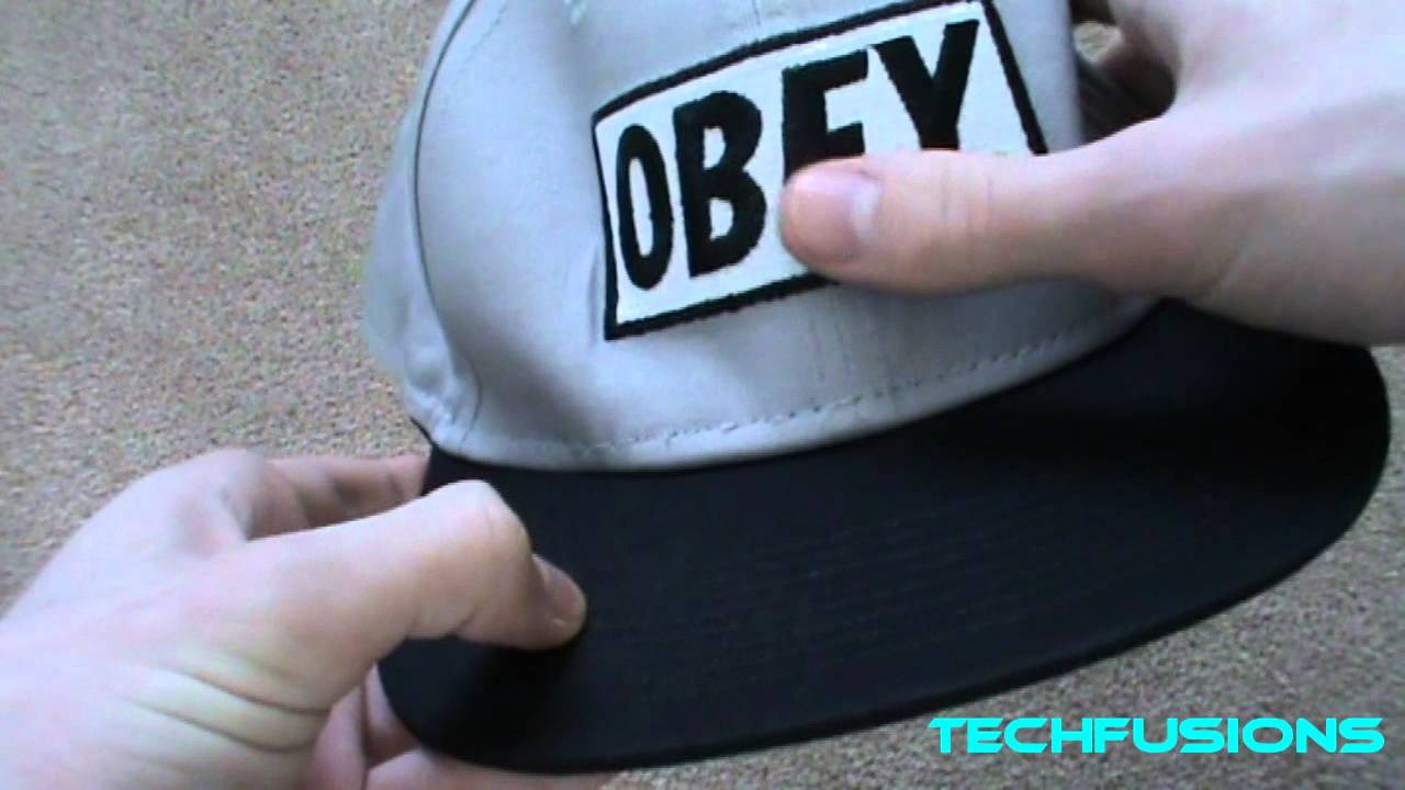Replica Obey Snapback (Cap) - Unboxing - YouTube