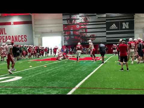 Nebraska Football: Sights and Sounds from Fall Camp (Aug. 14, 2019)