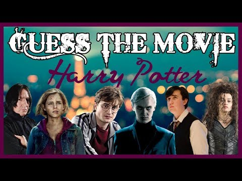 [GUESS THE MOVIE] Movie Quotes #01 - 100% Harry Potter #1