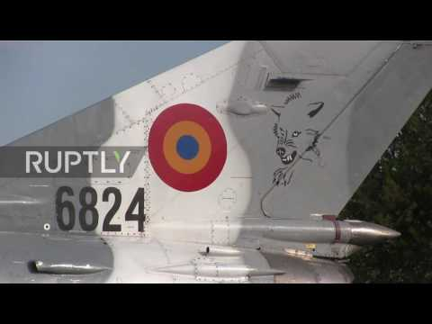 Romania: British jets begin NATO air patrolling mission
