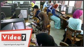 اقبال ضعيف على معامل التنسيق بجامعة القاهرة فى اليوم الاول للمرحلة الثانية