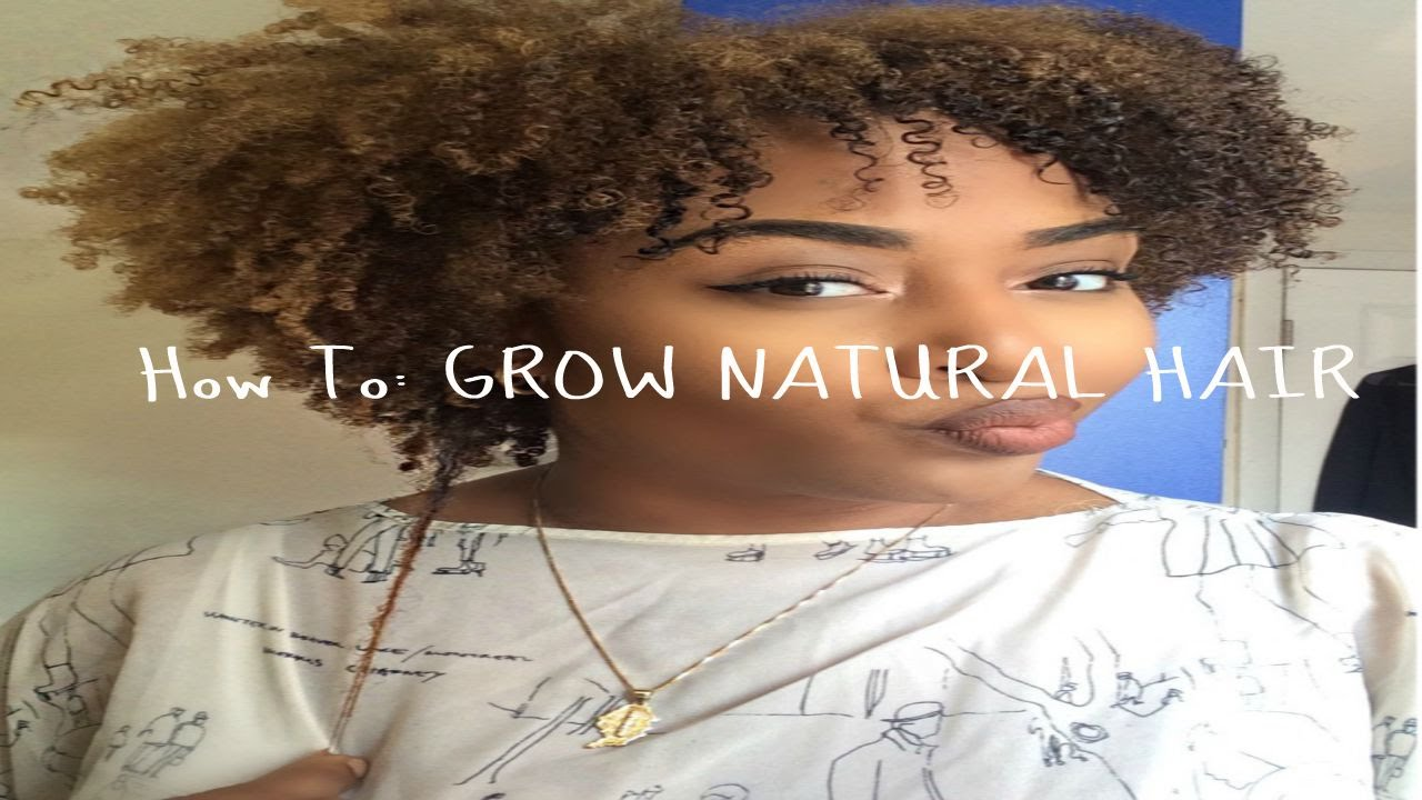 how to grow long healthy natural hair pdf