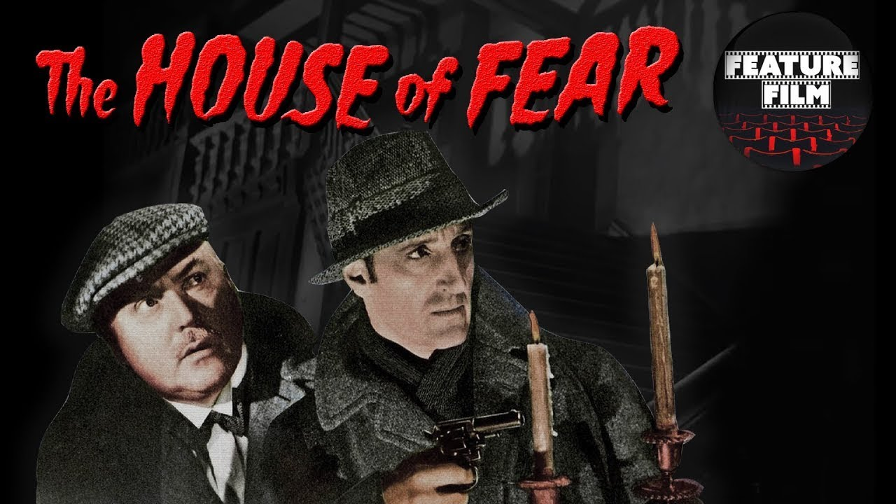 Download SHERLOCK HOLMES: The House of Fear (1945) | HD Full Movie | Basil Rathbone in the best Mystery Movie