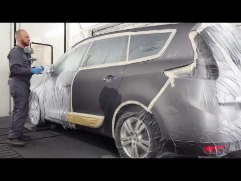 Renault Grand Scenic ( wet bed blending)