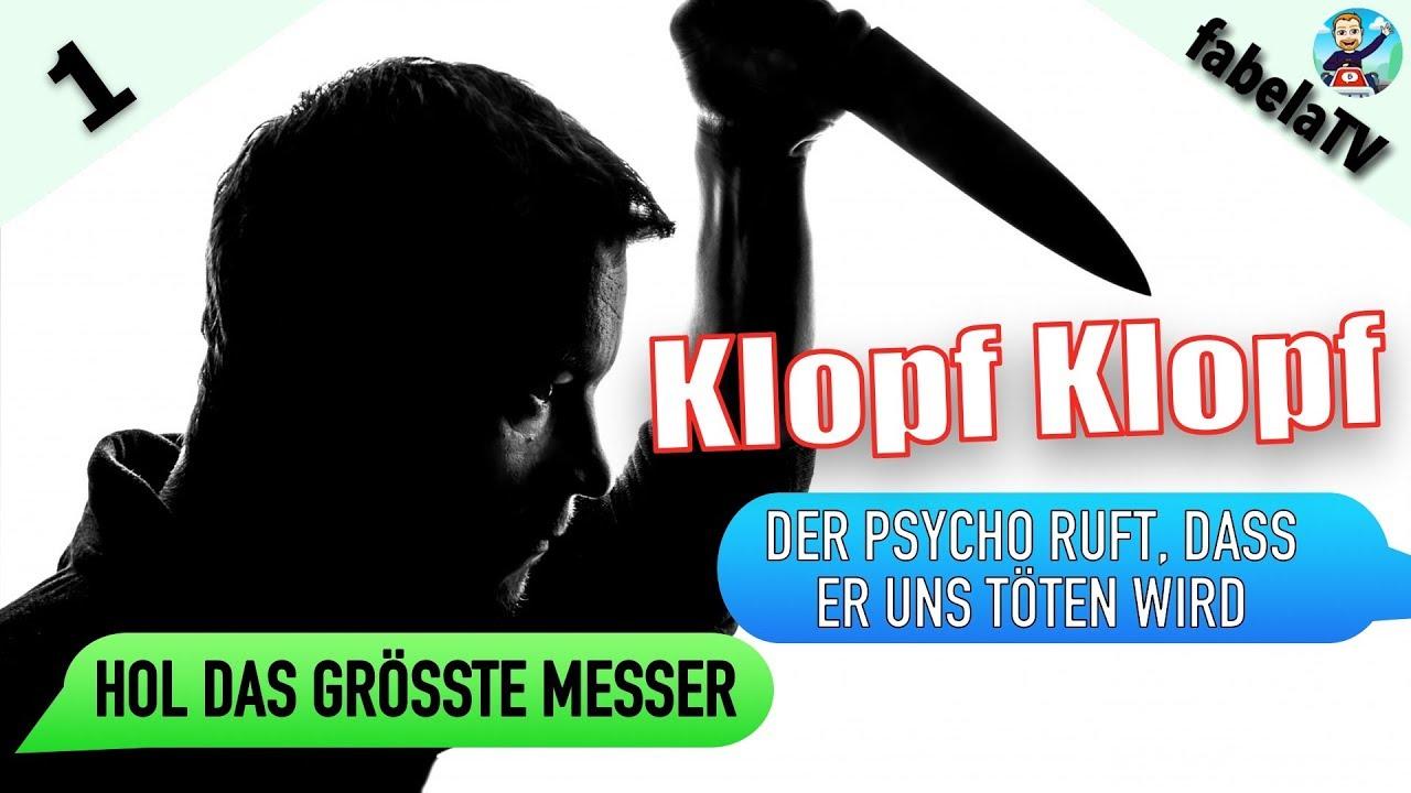 Gruselige Chats Deutsch: Klopf Klopf #1: Unerwünschter