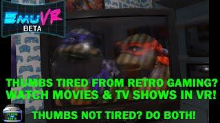 EmuVR Beta: VR Retro Gaming Emulation - Play NES, SNES, N64