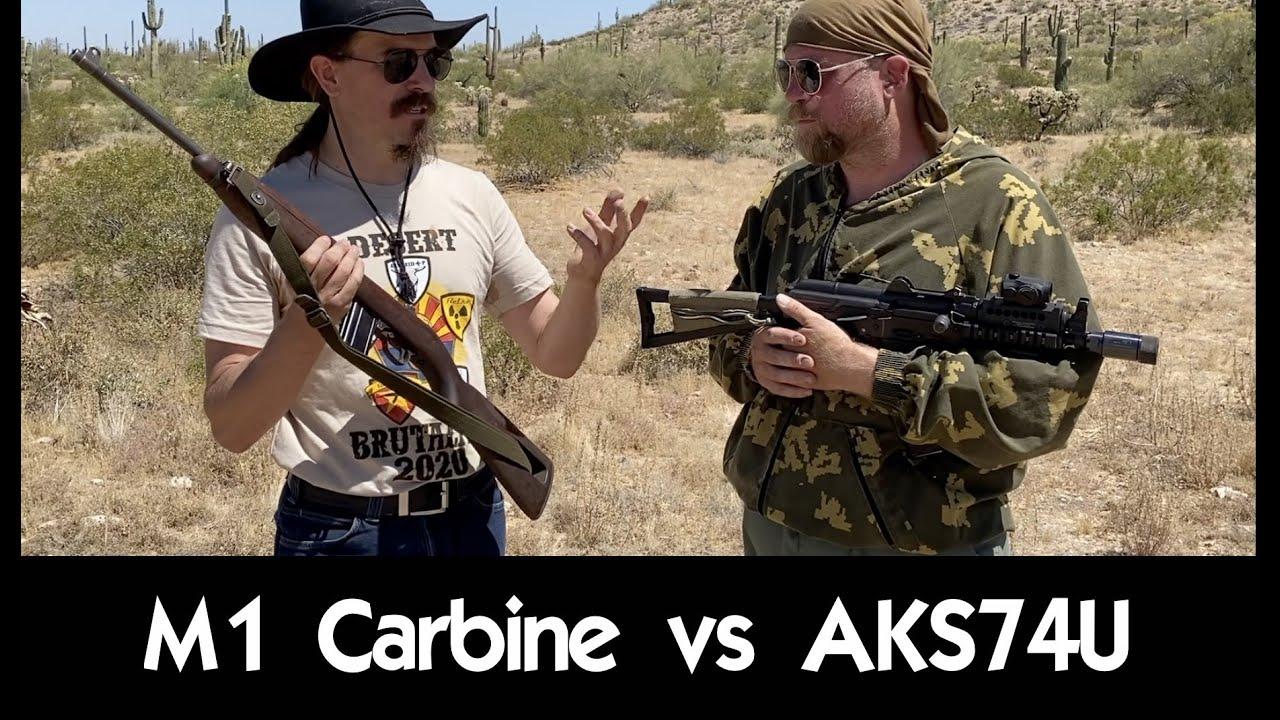 M1 Carbine vs AKS74U