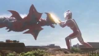 "Mebius battles Arigera in ""Ultraman Mebius"". Fair Use, as I am in n..."