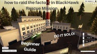 Cómo asaltar la fábrica en BlackHawk Rescue Mission - Roblox