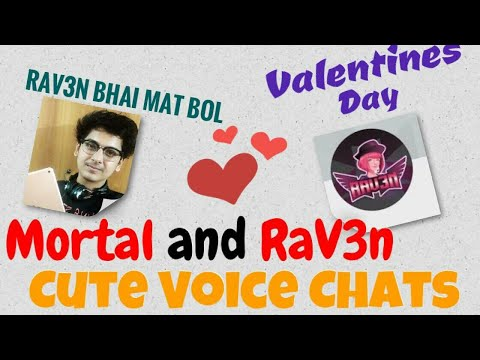 MortaL & RaV3n Funny Voice Chat 😂😂😂 | Part 1 | BIG ANNOUCEMENT | Livestream  |