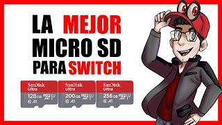 LA MEJOR MicroSD ✅ para Nintendo Switch