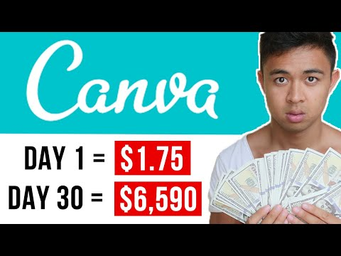 Copy & Paste To Earn $5,000+ With Canva (FREE)   Make Money Online
