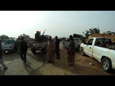 Libyan Civil War - Battle for Galaa/Sofitt Hill (near Zintan) Part 1