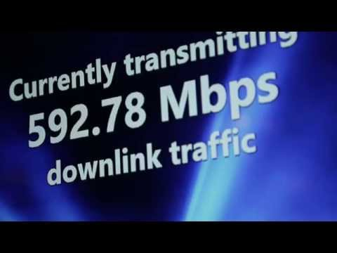 Cat 11 LTE Demo - over 590mbps!