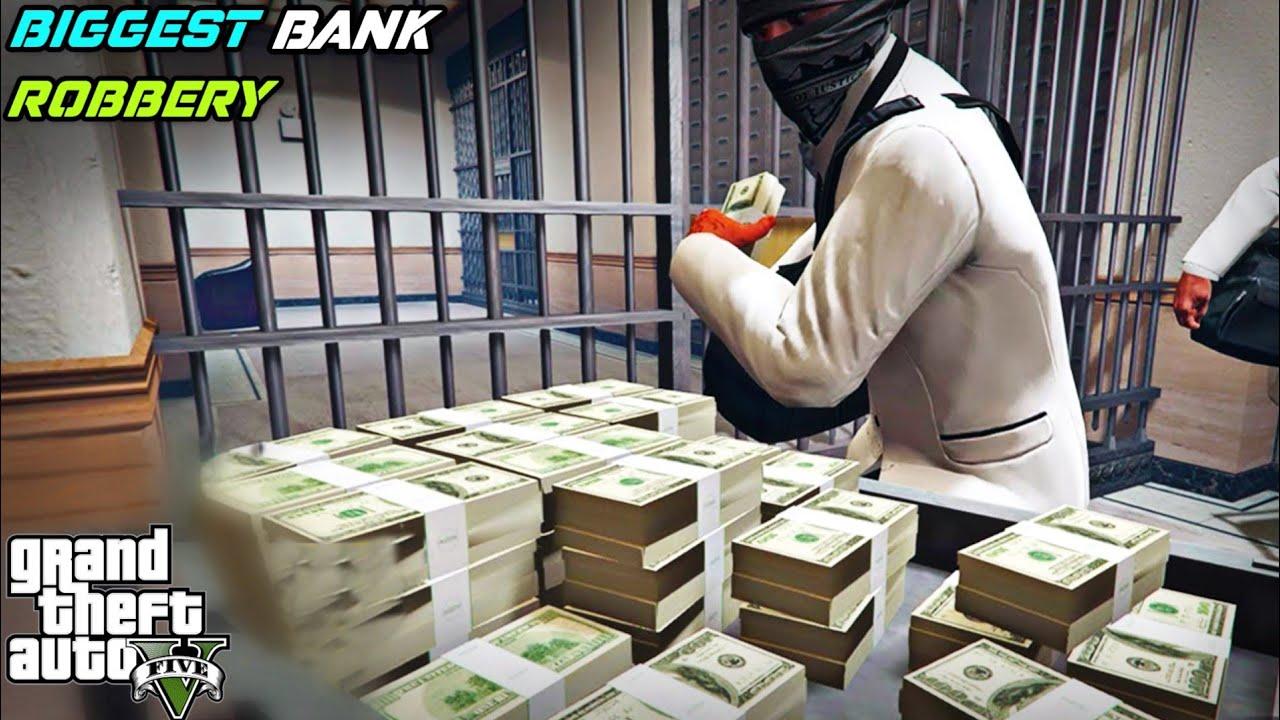Download GTA 5 : 3.4 MILLION DOLLARS BANK ROBBERY IN LOS SANTOS 🤑
