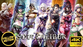 SOULCALIBUR VI   All 22 Characters Special Critical Edge & Soul Charge Showcase Compilation [4K]