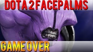 One of DoubleClickDota2's most viewed videos: Dota 2 Facepalms - Game Over