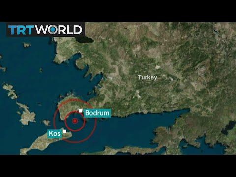 Aegean Sea Earthquake: Strong quake kills at least two in Greece