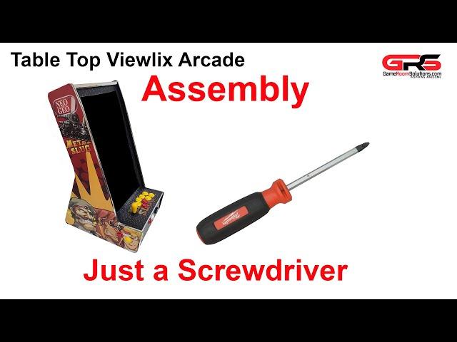 Table Top Viewlix Vertical Arcade Cabinet