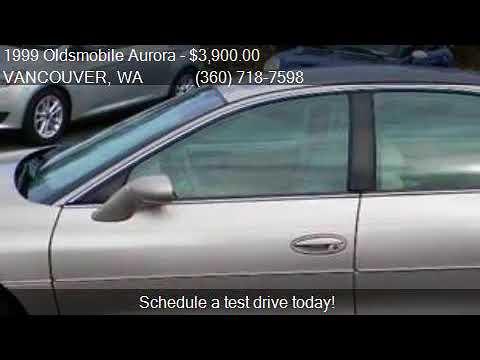 1999 Oldsmobile Aurora Base 4dr Sedan for sale in VANCOUVER,