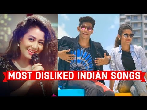 Top 10 Most Disliked Indian/Bollywood Songs of All Time on Youtube