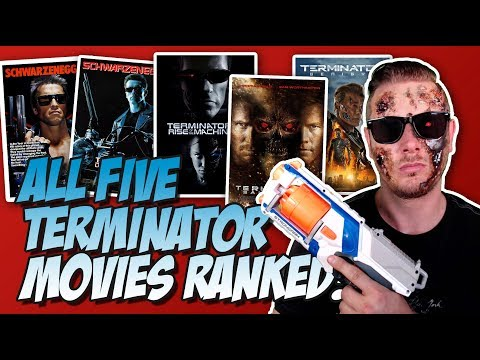All 5 Terminator Movies Ranked From Worst to Best