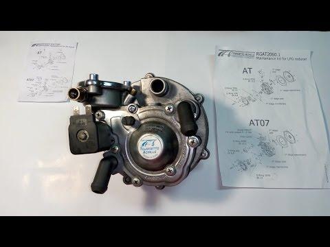 Tomasetto AT-07, полный ремкомплект, сборка после чистки, тонкости при сборке.